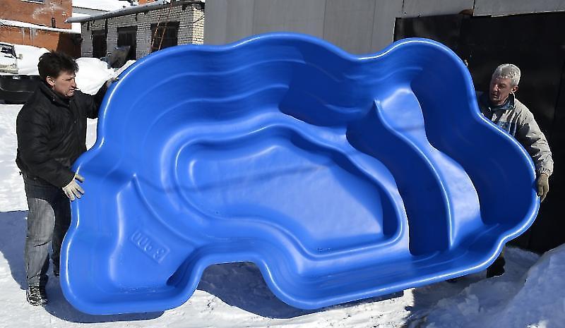 бассейны из пластика