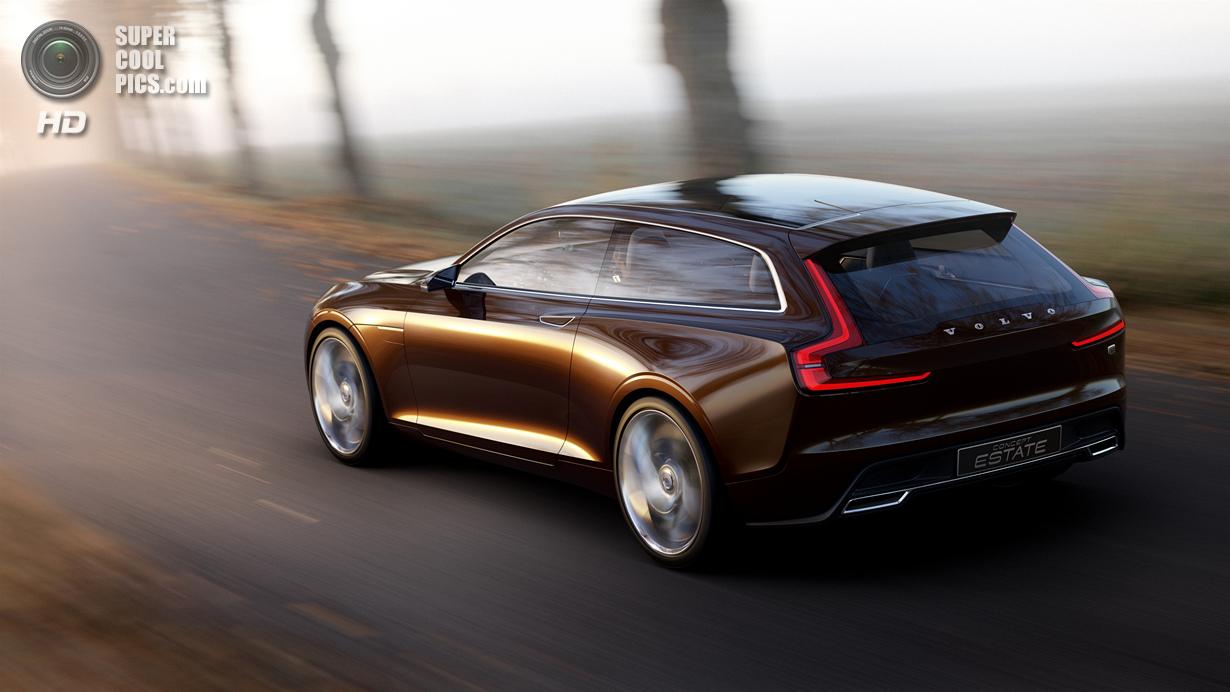 Новый дизайнерский язык Volvo на примере Concept Estate