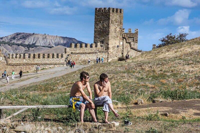 Летом в крепости
