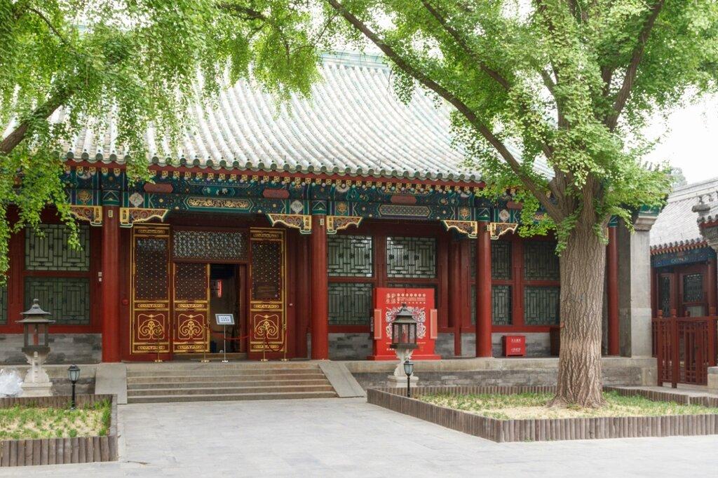 Один из дворов резиденции, Гунванфу, Пекин