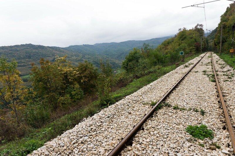 железная дорога Кръстец - Бъзовец - Плачковци пейзаж