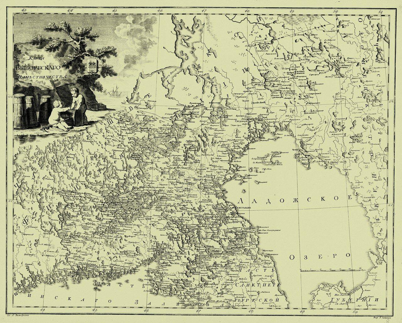 08. Карта Выборгского наместничества