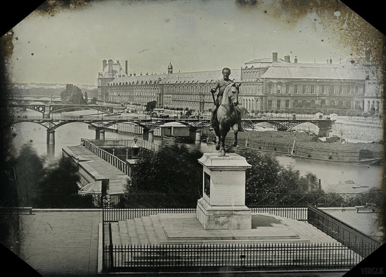 1840. Генрих IV и Сена