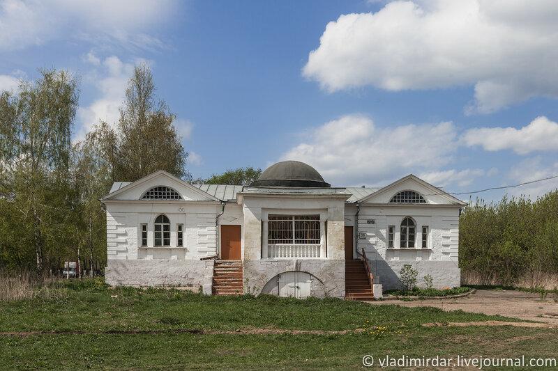 Парковый павильон усадьбы Ивановское. Чайный и цветочный домик.