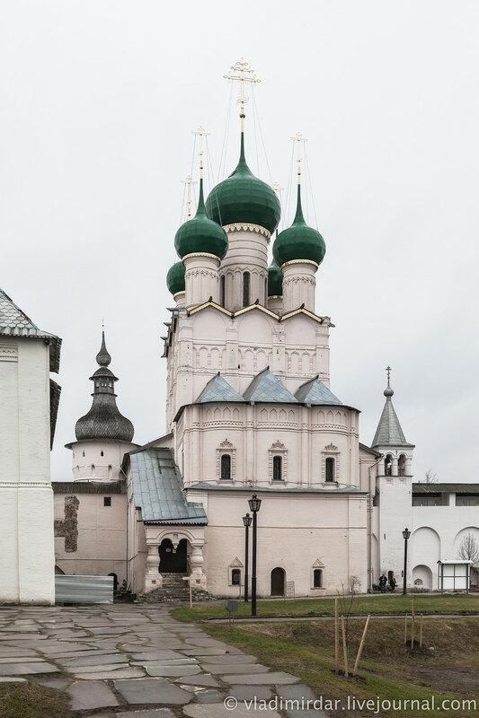 Церковь Иоанна Богослова. Ростовский кремль.