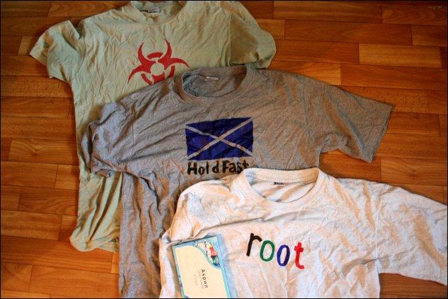 Как рисовать на футболках