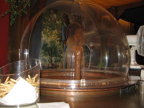 Шоколадный фонтанчик