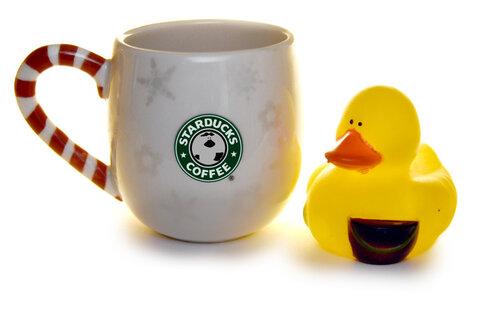 Уточка — оно, кофе — оно.