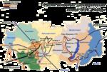 Электрическая схема вхождения станции в ЕЭС России.
