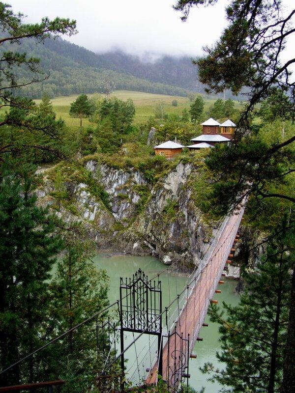 Подвестной мост к о.Патмос