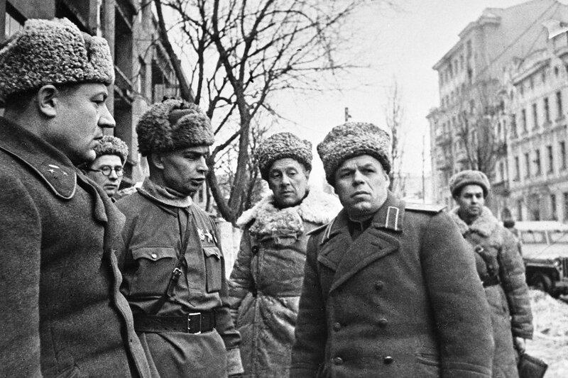 Освобождение Харькова, оккупация Харькова, Красная звезда, 19 февраля 1943 года