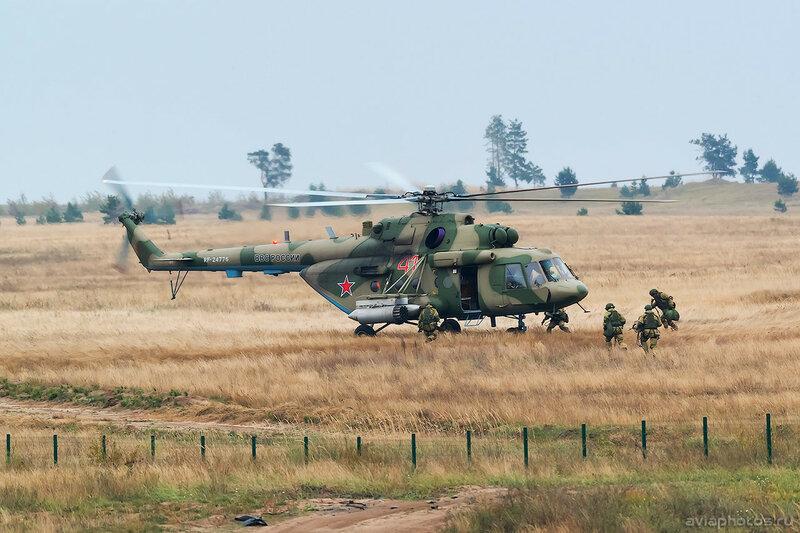Миль Ми-8МТВ-5 (RF-24776 / 41 красный) ВКС России 0666_D806321