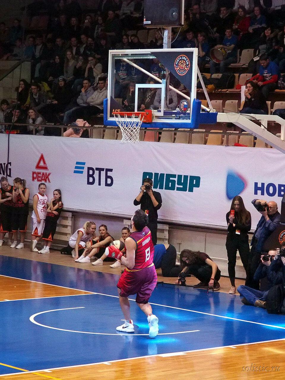 119 Матч звезд АСБ 2018 (ассоциации студенческого баскетбола)