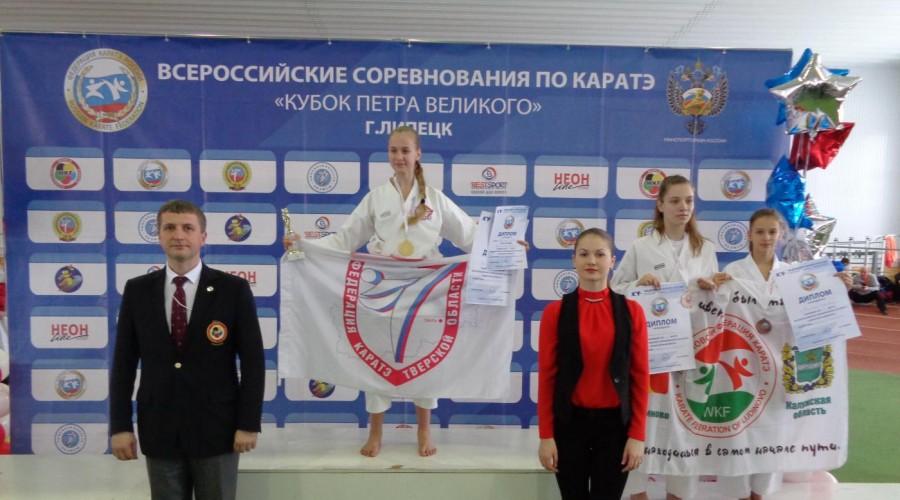 Сразу несколько медалей выиграли калужские спортсмены на всероссийском чемпионате в Липецке