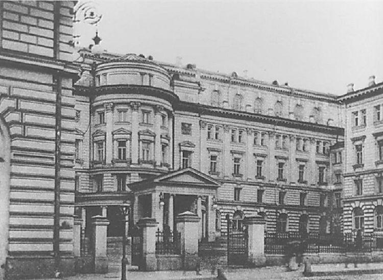 Консерватория на Большой Никитской, 1901-1903 гг.