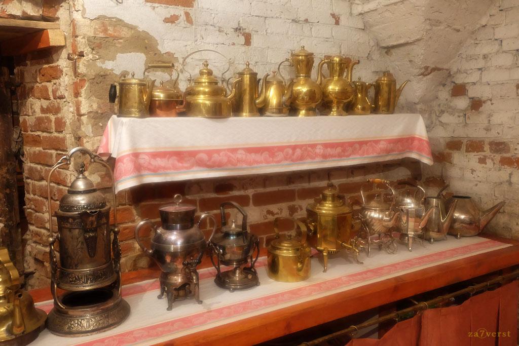 Усадьба Пашковых, музей чайников