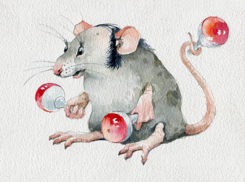 Крысы / художник Дмитрий Морозов