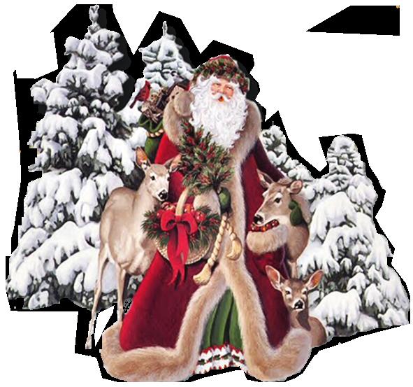 Открытки. С Днем Рождения Дед Мороз. Поздравляем вас