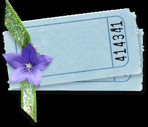 голубые карточки