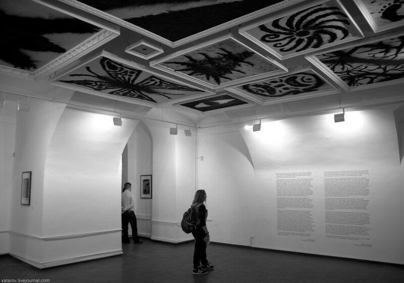 Выставка Сажа. Московский музей современного искусства