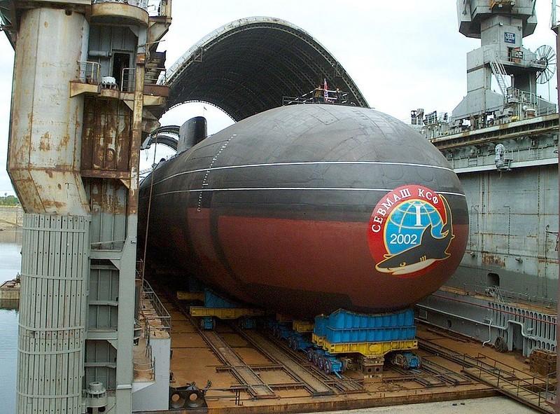 0 1801a8 bcba1396 orig - Самая большая подлодка в мире. Конечно, наша - русская.