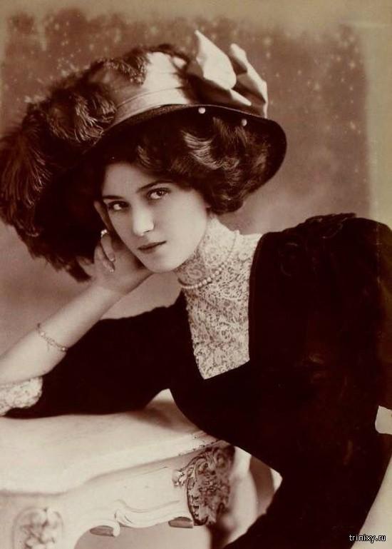 0 18131f 1db0970 orig - Красотки на столетних фотографиях