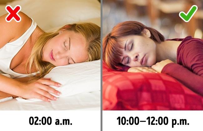 7–8 часов крепкого сна, ичувство голода небудет будить вас поночам. Ночью наш организм вырабатыва