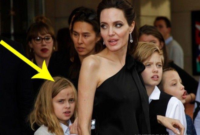 Уже вторая дочь Джоли начала одеваться как мальчик! (4 фото)