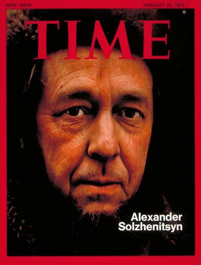 Time-Alexander Solzhenitsyn Feb. 25, 1974
