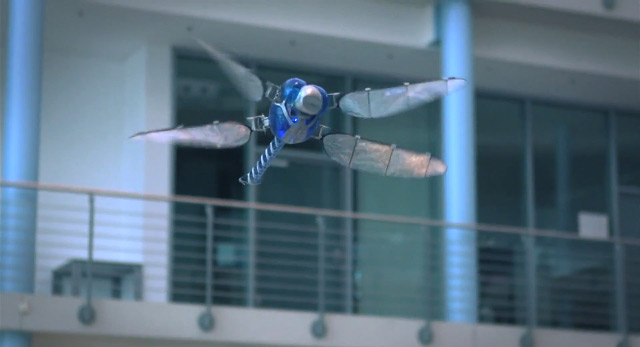 The BioniCopter is the latest robotic marvel from German technology firm Festo , a company known for
