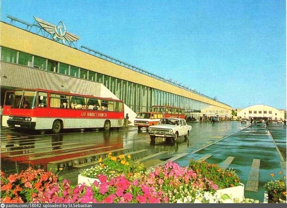 Аэровокзал, конец 80-х
