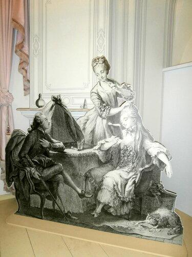 Инсталляция эпохи 18-19 веков в бане