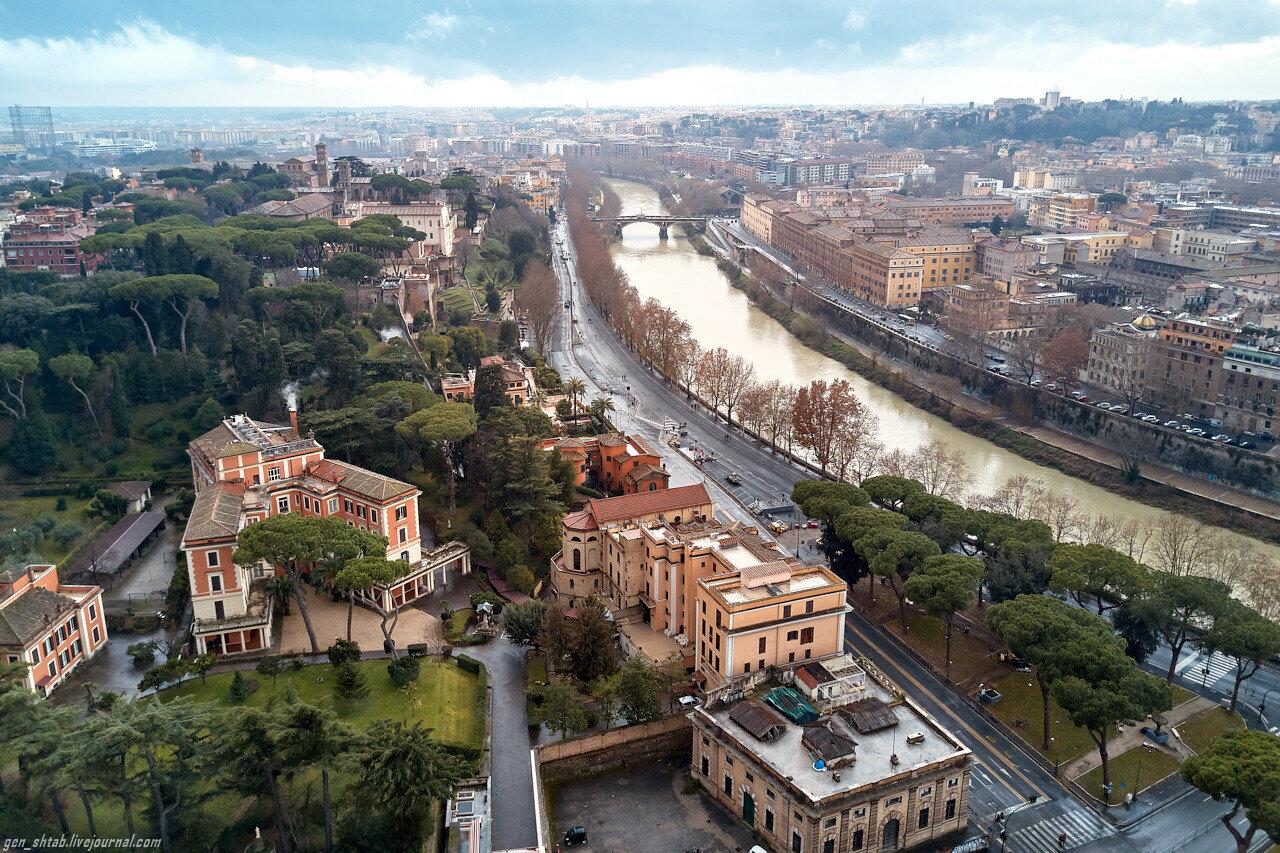 Рим с высоты. -