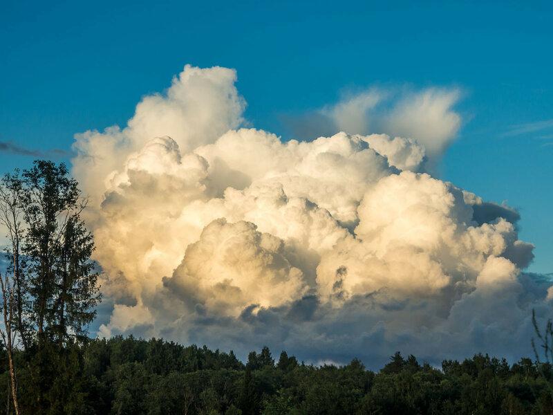 Большое облако.