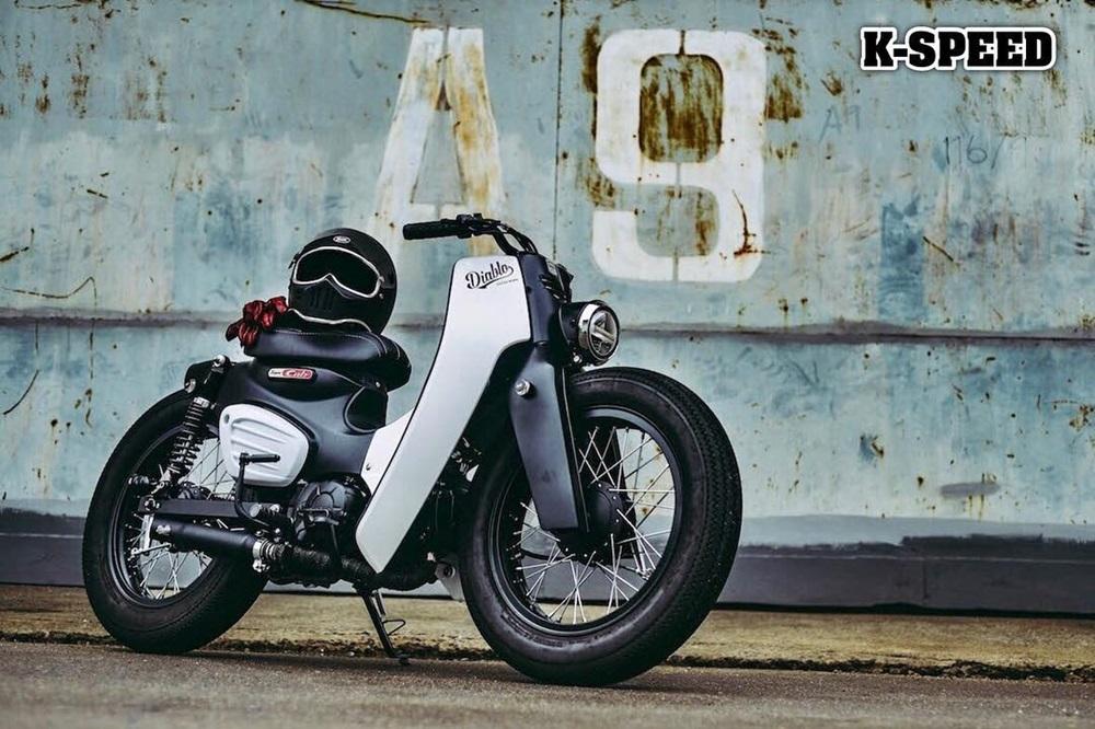 K-Speed: Кастом Honda Super Cub