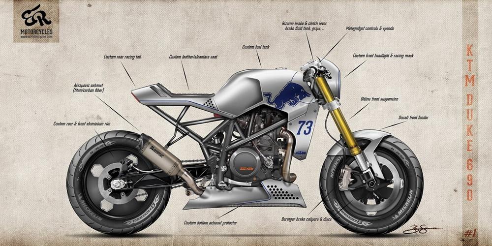 Концепты ER Motorcycles