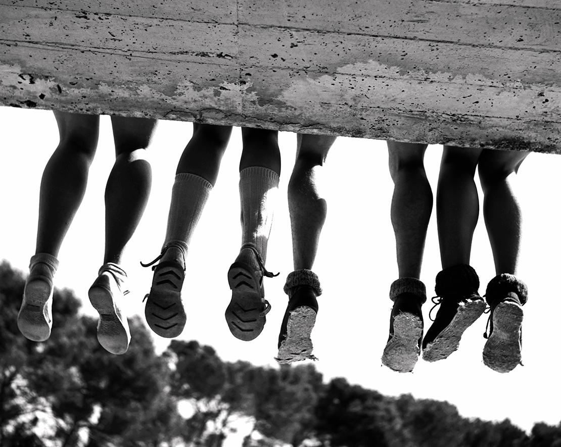 Quatre paires de jambes1091