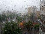 Рисует дождь
