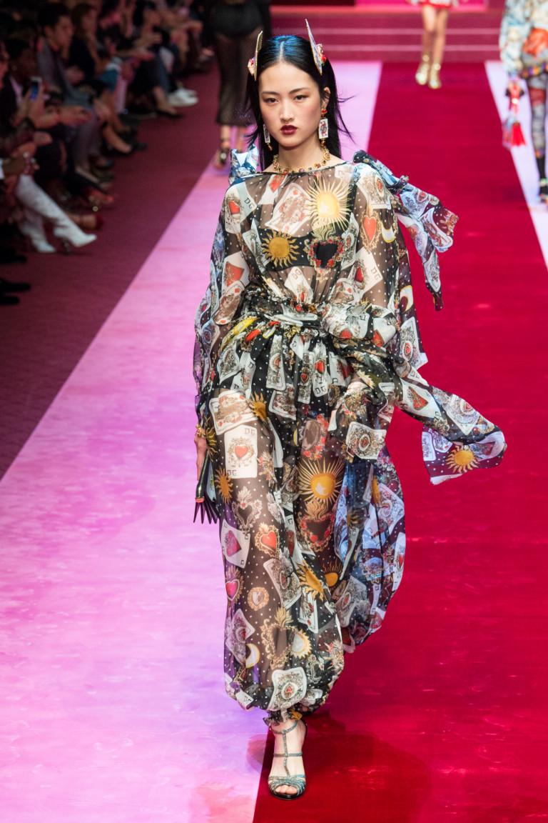 Dolce & Gabbana весна-лето 2018