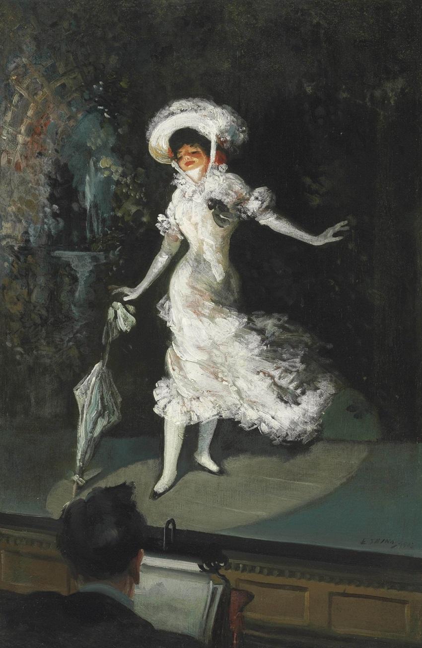 1902 Певица на сцене (The Stage Singer)