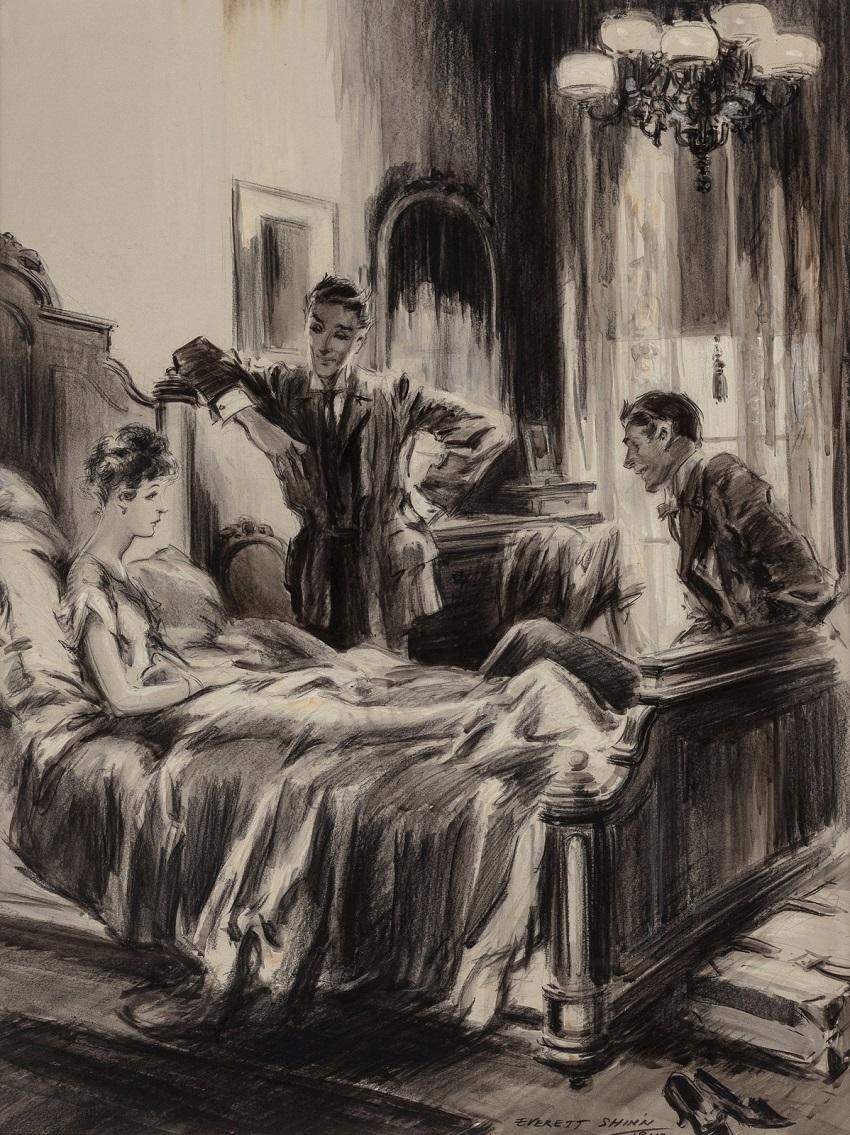 1915,август_Кольцо с бриллиантом (The Diamond Ring, McClure's Magazine story illustration)