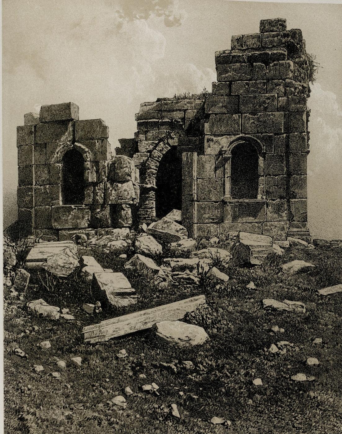 71. Зат-Рас. Южная часть маленького храма