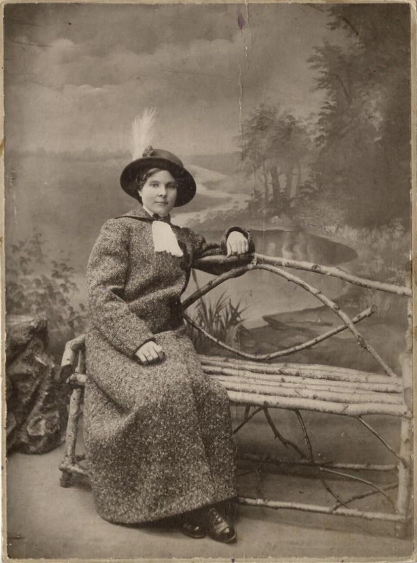 Модистка Буянова Татьяна Ивановна. 1910-е