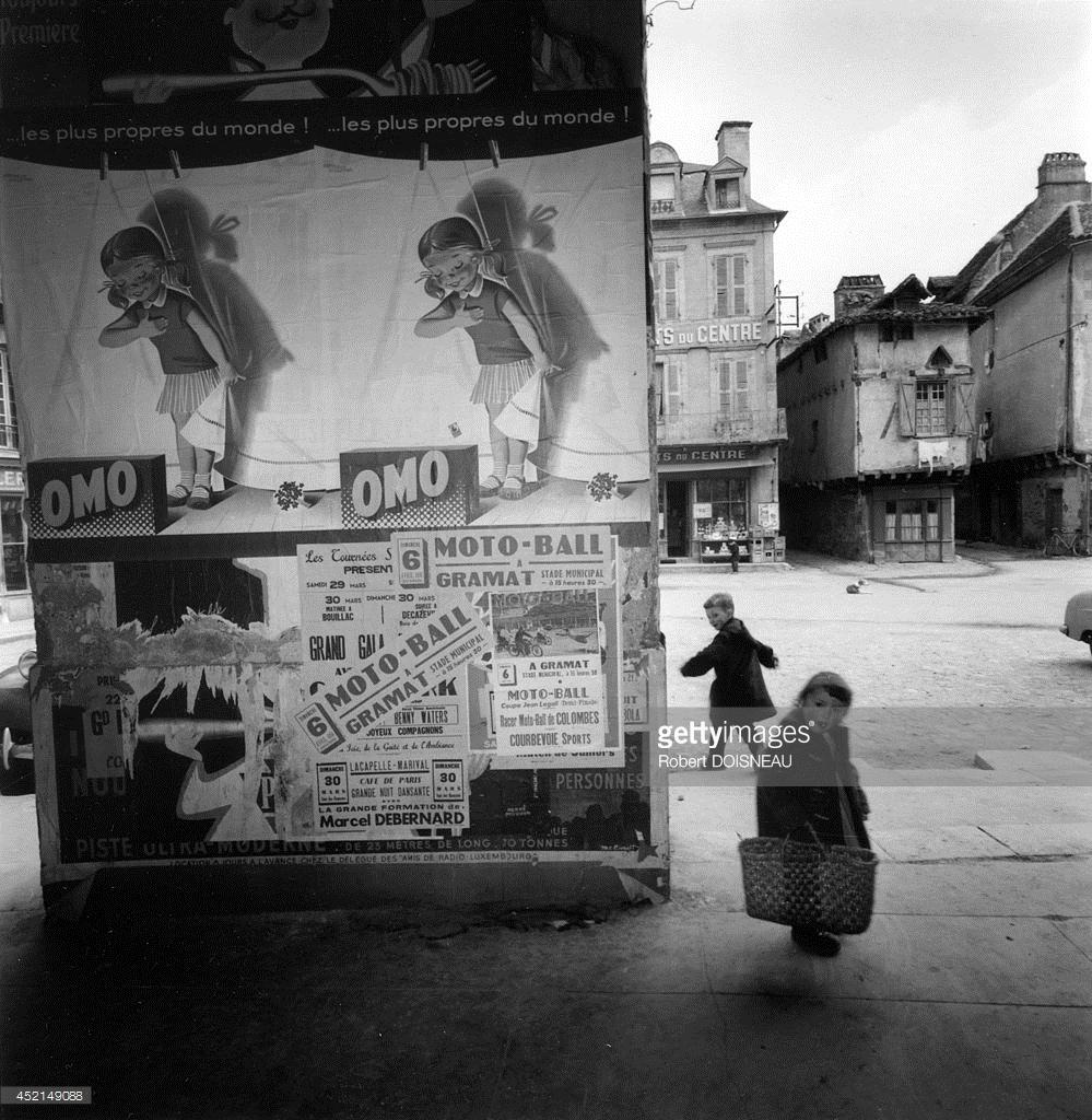 1958. Площадь Меркадьяль, Сент-Сер