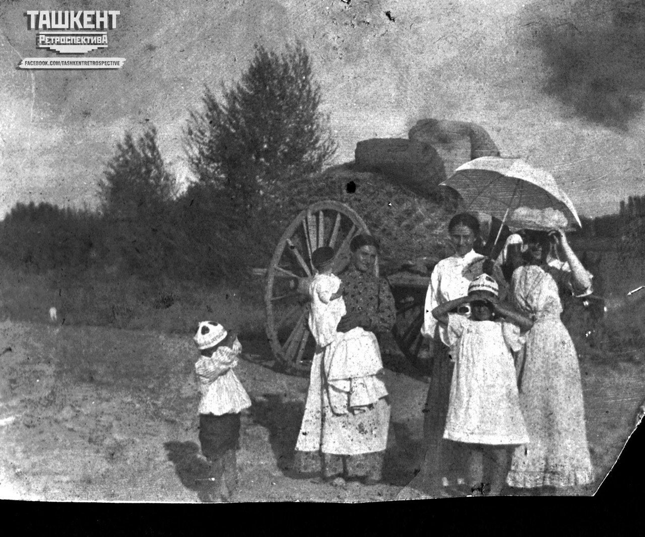 Окрестности Ташкента, 1909