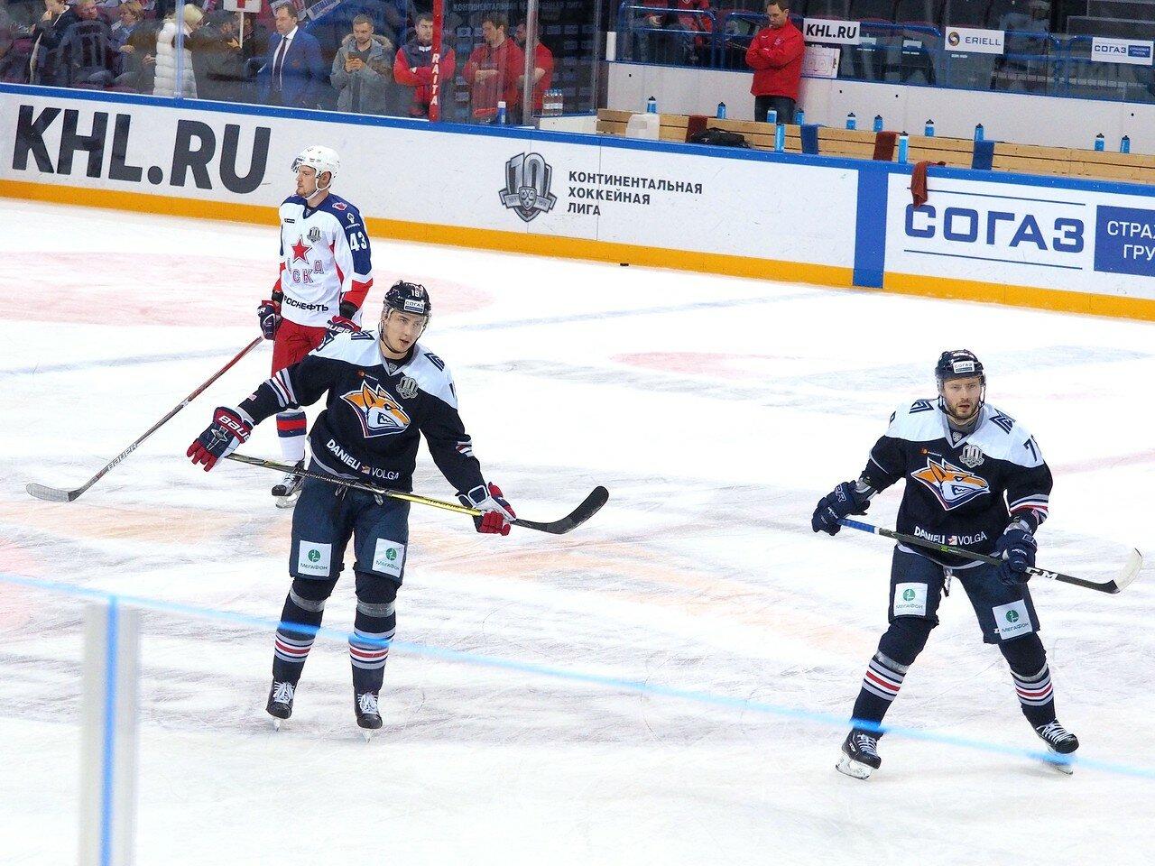 42 Металлург - ЦСКА 18.10.2017