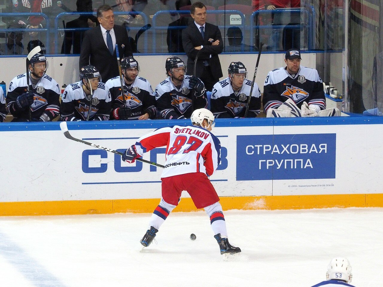 95 Металлург - ЦСКА 18.10.2017