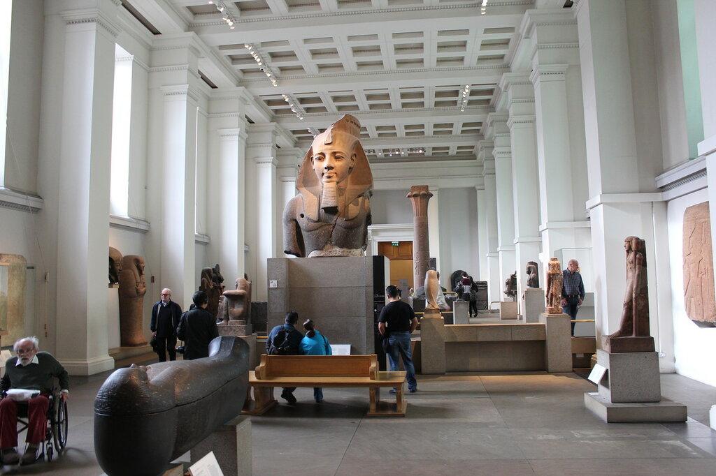 Британский музей Египет (Мир глазами дочери)