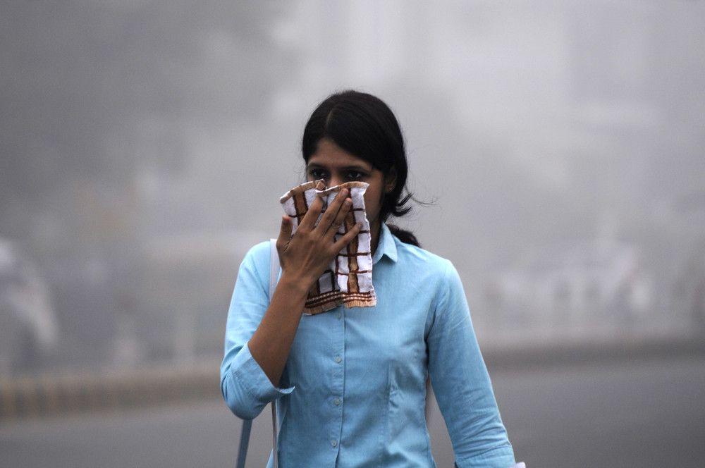 Нью-Дели накрыл токсичный смог