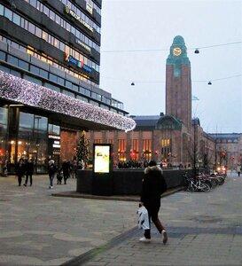 Хельсинки. Часовая башня